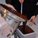 残ったチョコレートはタッパーに!!