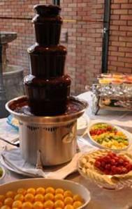 安心の保証付きで楽しいチョコレートファウンテンイベント♪♪