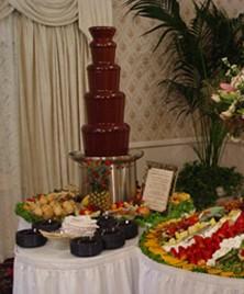 チョコレートファウンテンで、華やかなイベント演出に!