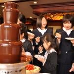 パーティーの演出に、チョコタワーは魅力的!