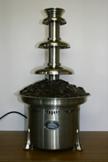 湯せんで溶かさず、時間を掛けて噴水ベースの中で溶かすやり方。