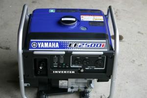 野外イベントの電源確保にインバーター発電機