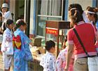 夏祭り模擬店にディズニーランドのような味で人気のキャラメルポップコーンを!