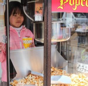 子どもが喜ぶキャラメルポップコーン