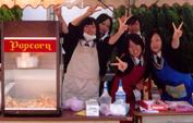 文化祭・学園祭にキャラメルポップコーン機レンタル