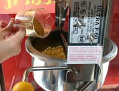 キャラメルポップコーンレシピは、弊社のレンタルマシーン用に作られたものです(^^)