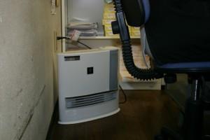 サラミックファンヒーターは加湿+空気もきれいになります!