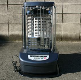 ブルーバーナーヒーターは温度調節が出来て、天板が熱くなりません。ルーヒーター