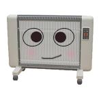 表面が熱くならない、遠赤外線輻射式セラミックパネルヒーター。お子様のいるご家庭でも人気!