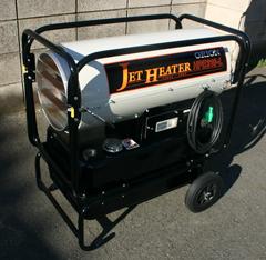 内装・塗装の乾燥に威力大な、ジェットヒーター