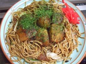 栃木県足利市の味『ポテト入焼きそば』